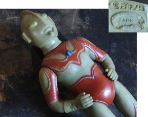 ウルトラマンのおもちゃ ソフビ